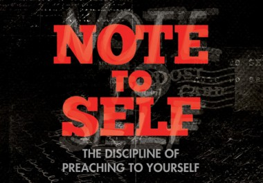 Every Pastor Should Read 'Note to Self'