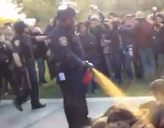 When Police Pepper Spray Peaceful Protestors… There Is Hope