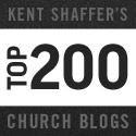 Quick Thoughts on Kent Shaffer's Top 200 Church Blogs