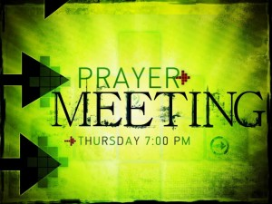 Prayer Meetings Are A Waste Of Time