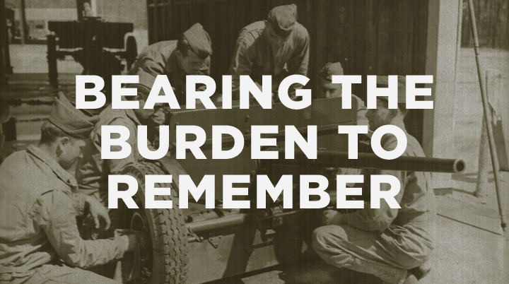 Bearing the burden to remember