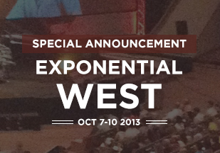 Exponential Is Coming to the West Coast with Saddleback Church as Host