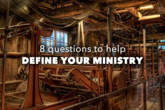 8 Ways to Give Definition to Your Ministry