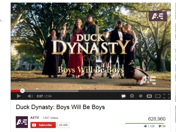 """""""Willie"""" Excited about Duck Dynasty"""