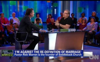 Rick Warren's Greater Fear: God's Disapproval