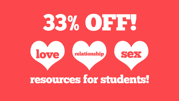 33% Off Love, Sex and Relationship Resources at DYM