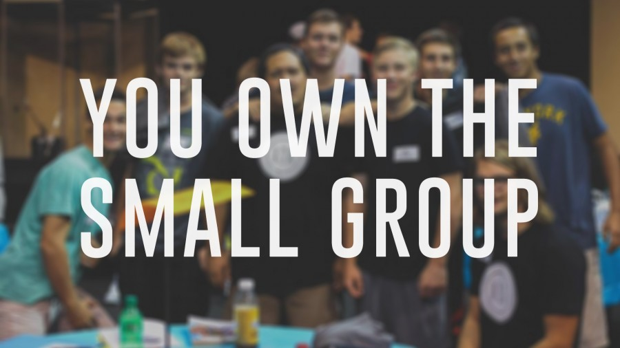 First 2 Years: You Own the Small Group!