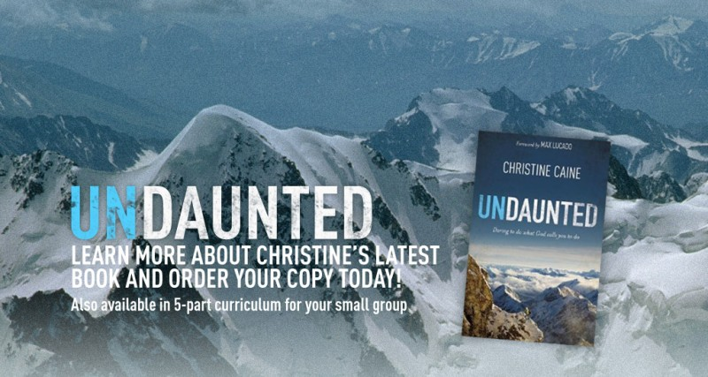 Books: Undaunted, by Christine Caine