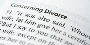 Did Jesus Really Mean What He Said About Divorce?