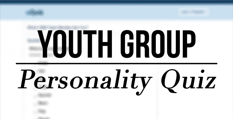 Youth Group Personality Test