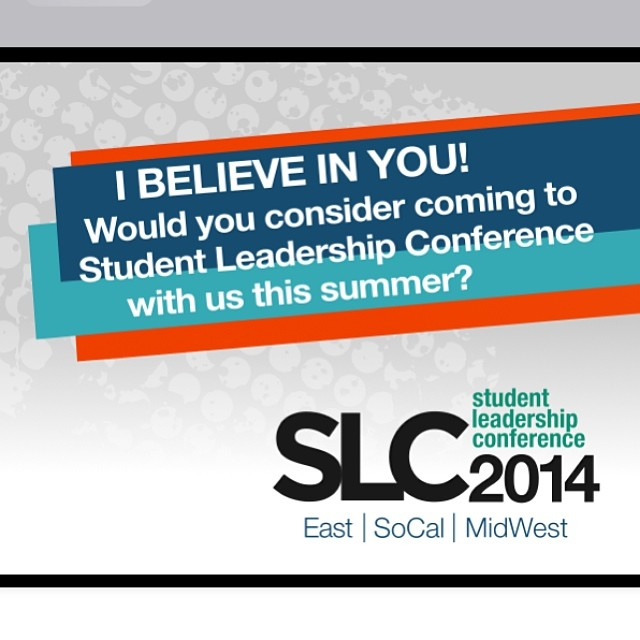 Doug Fields Invitation to Be a Part of Student Leadership Conference 2014