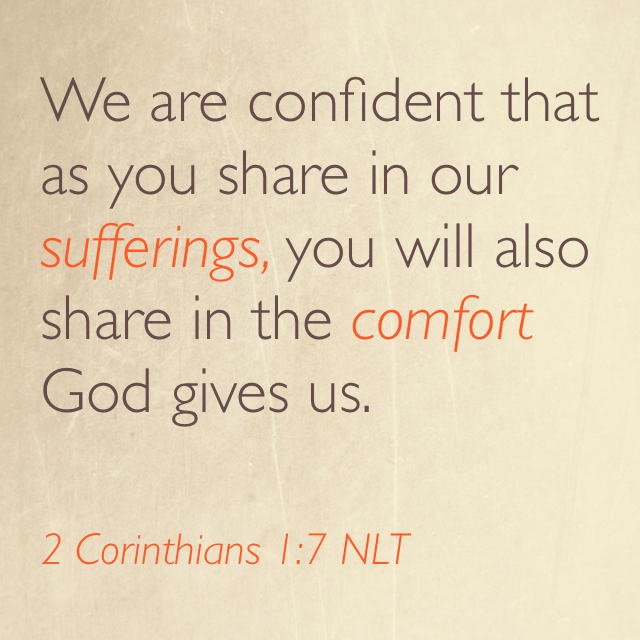 Going Deeper Into the God of Comfort