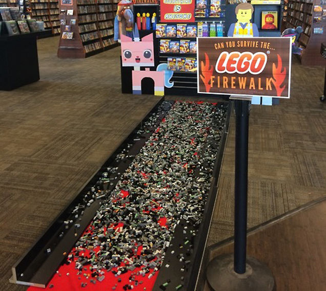 LEGO Fire Walk – Potential Youth Ministry Game