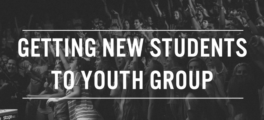 First 2 Years: Getting New Students to Youth Group