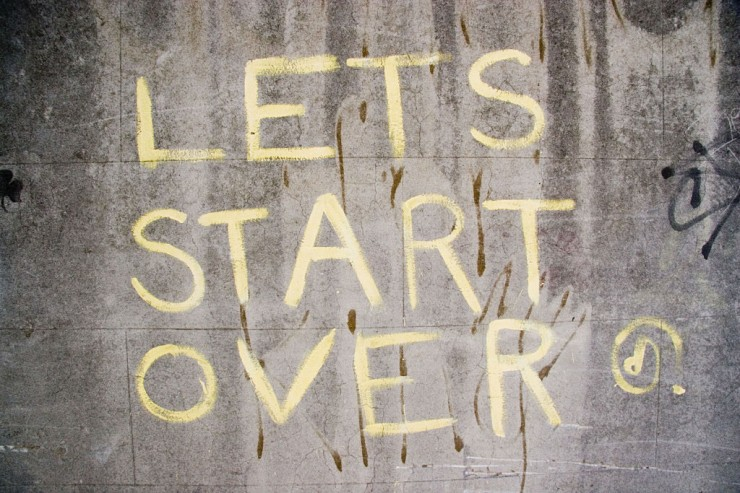 It's Never Too Late to Start Over, Part 2: Get Going Again
