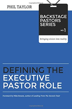 New Book: Defining The Executive Pastor Role