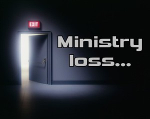 Jesus-Centered Ministry Loss