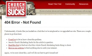 404 Error Pages: 11 Examples of Churches Doing Errors Right