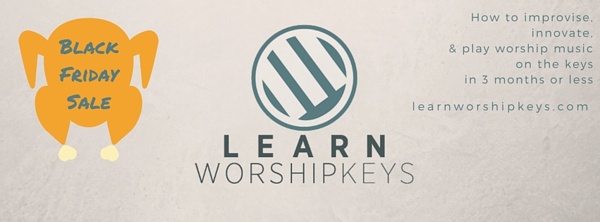 Learn Worship Keys Black Friday Sale
