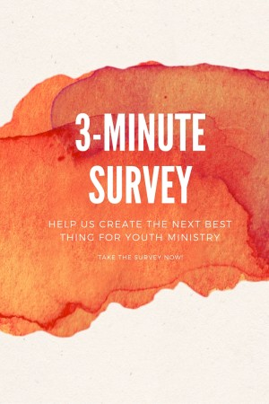 Youth Ministry Survey!