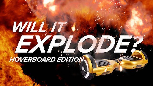 Will It Explode?! Hoverboard Edition