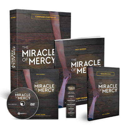 Unleash a Powerful Wave of Impact with The Miracle of Mercy: Saddleback's Newest Campaign