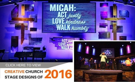 Church Stage Design – Creative Ideas for Your Church - Ministry Feeds