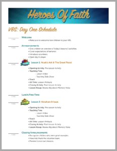 Vbs Dont Stress An Easy Vacation Bible School Guide Youll Love