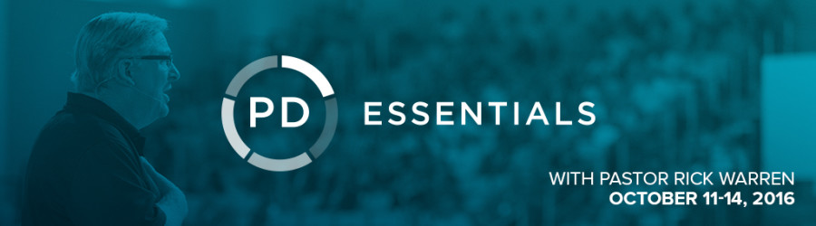 Catch the Vision at PD Essentials Conference!