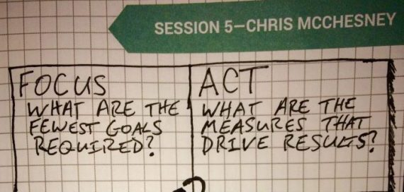 Chris McChesney at GLS 2016 on The 4 Disciplines of Execution and Other Top Posts from August