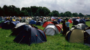 Discussion Starter: Chinese Parents Camp Out on Campus