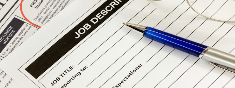 Compensation Program Job Descriptions