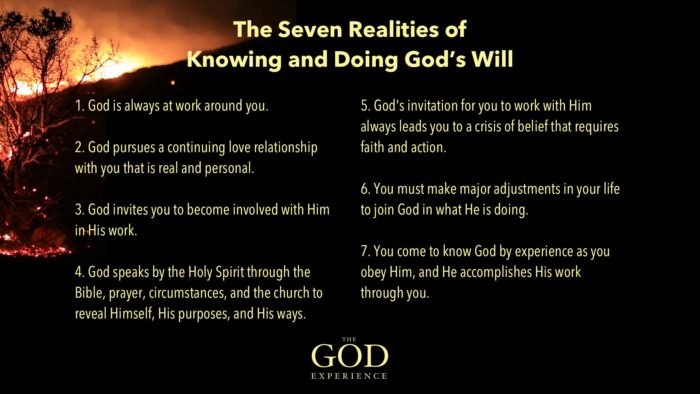 7 Realities of Knowing and Doing God's Will