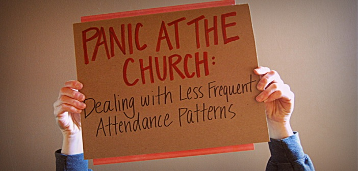 Panic at the Church: Dealing with Less Frequent Attendance Patterns