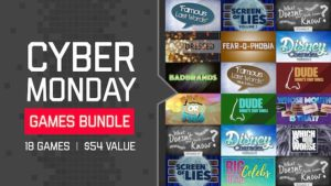 CYBER MONDAY GAMES BUNDLE! 18 Games, $19 TODAY Only!