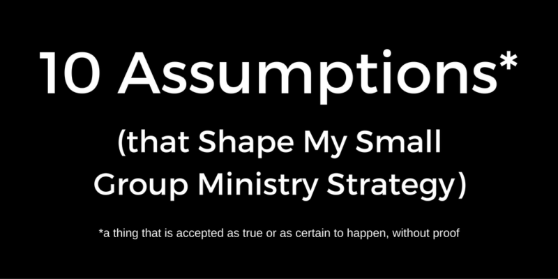 I've Just Added Two New Assumptions to My List of Assumptions