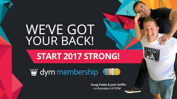 Start 2017 with a DYM Membership