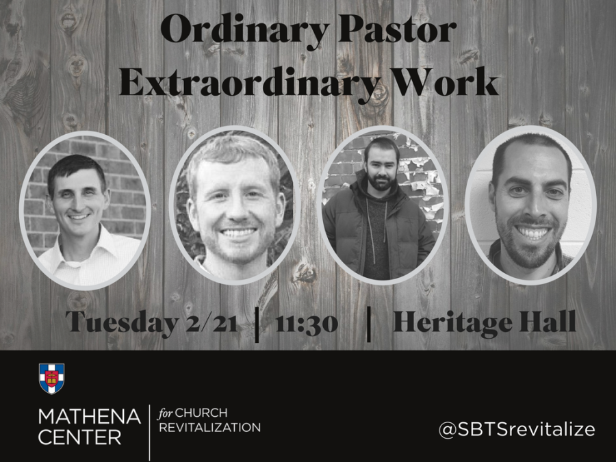 Church Revitalization Event @SBTS (Tuesday, Feb. 21)