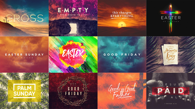 Easter Church Graphics & Media