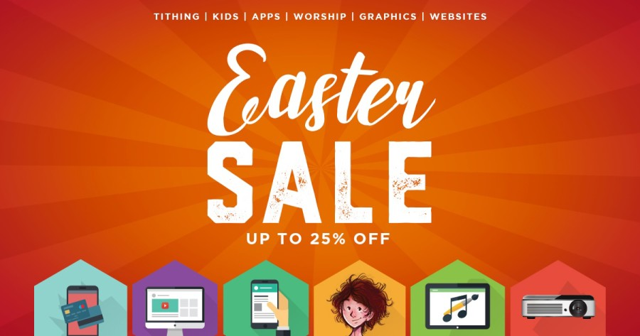Sharefaith's Annual Easter Sale! Save Up To 25%