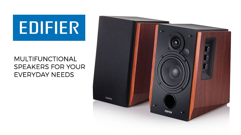 Edifier Bookshelf Speakers – Audiophile Speakers For An Amazing Price!