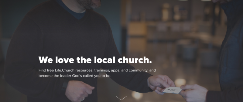 Take a Look at Life.Church's Open Network