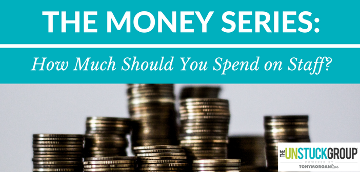 The Money Series: How Much Should Churches Spend on Their Staff?