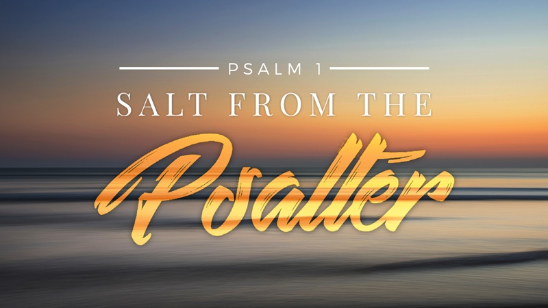 Psalm 1: An In Depth Study Of The Psalter