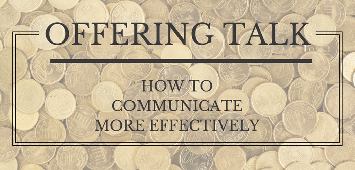 Offering Talk: How to Communicate More Effectively