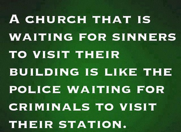 Sinners and Church Image