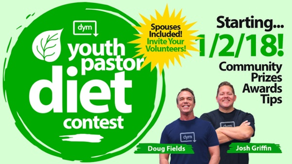 Youth Pastor Diet is Almost Here!