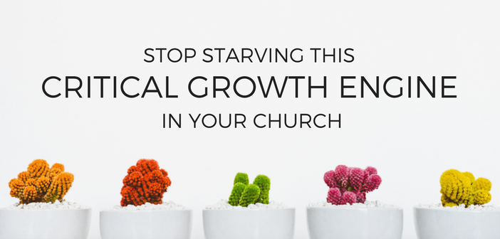 Stop Starving This Critical Growth Engine in Your Church