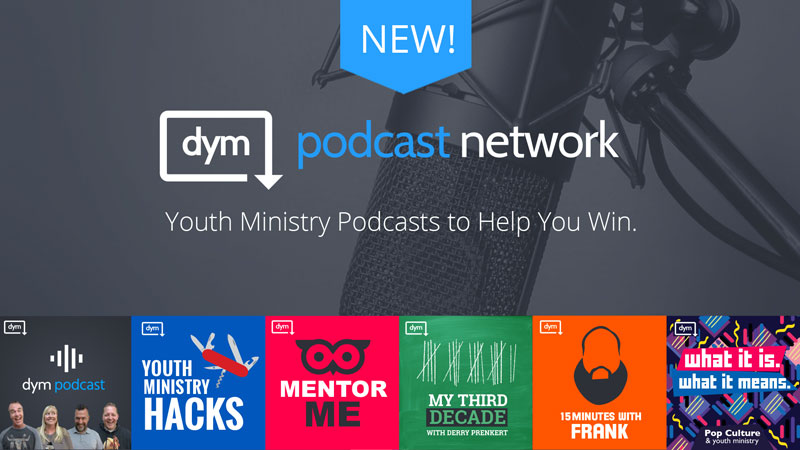 Introducing … the Download Youth Ministry Podcast Network!
